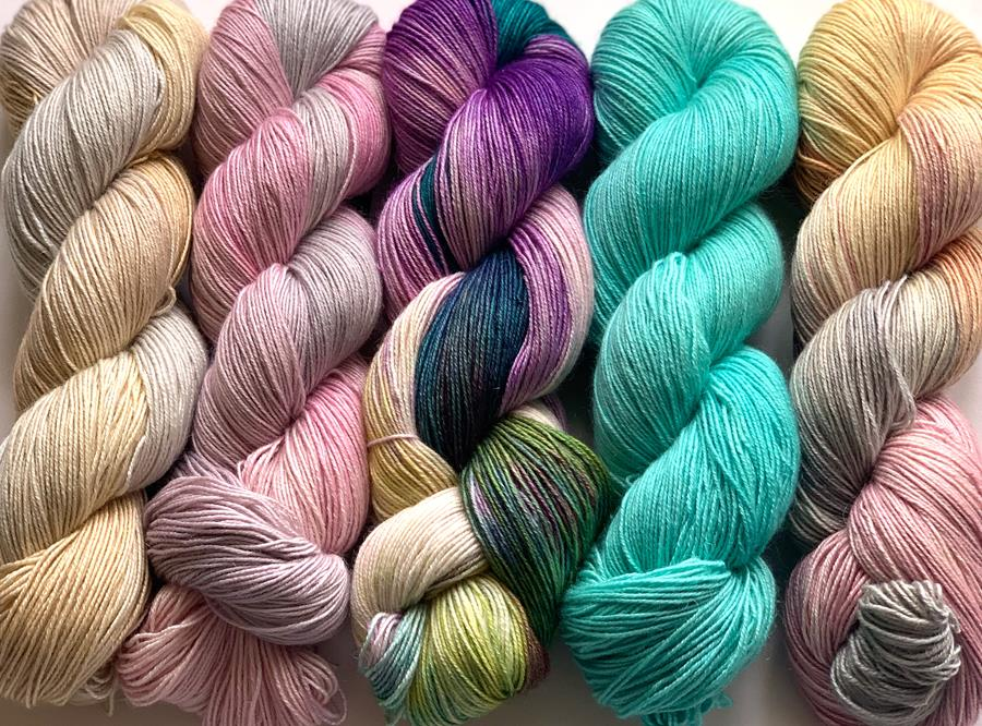 New!  Prosecco by Hand Maiden Fine Yarn